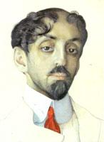Портрет поэта Михаила Кузмина (1909 г.)