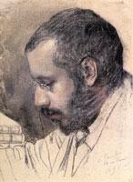 Портрет Александра Бенуа (1895 г.)