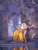 Арлекин и дама (Фейерверк) (1912 г.)